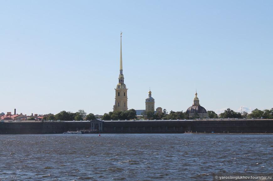 Как мне кажется, самый питерский вид в городе: силуэты Петропавловского собора.