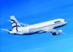 Aegean Airlines соединит Афины и Москву