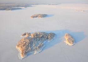 Живописные острова в заливах Онеги