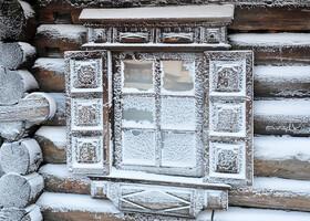 Зима, мороз, Кижи
