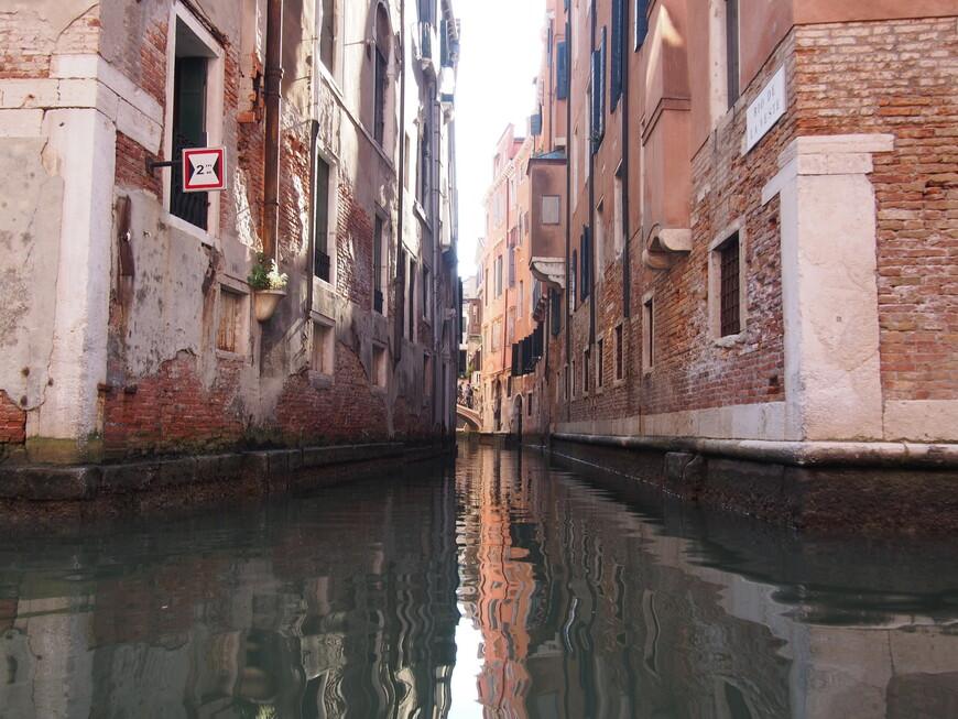 Каналы Венеции - одно из любимых фото альбома