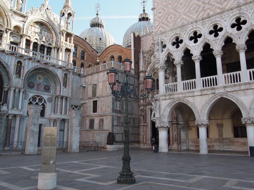 Самый красивый уголок в центре Венеции