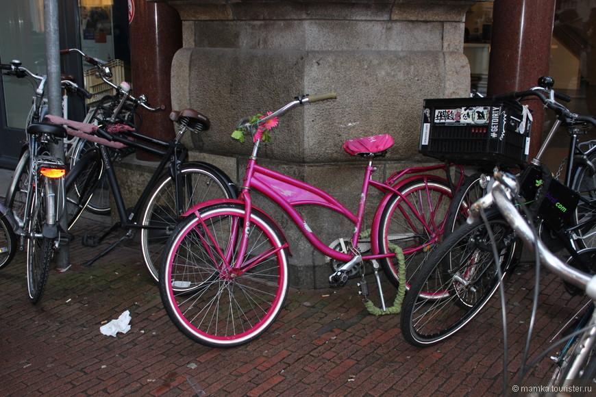 А уж велосипедов там такое разнообразие!!! На любой вкус!!