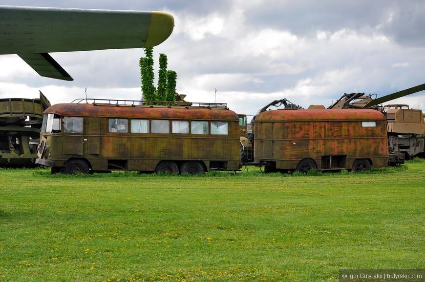 Штабной автобус на базе Зил-157