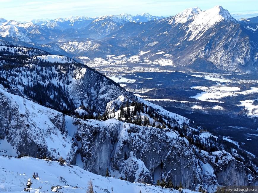 А далее - всюду великолепные, завораживающие виды Альп