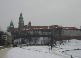 Вавельский Замок в Кракове. Польша