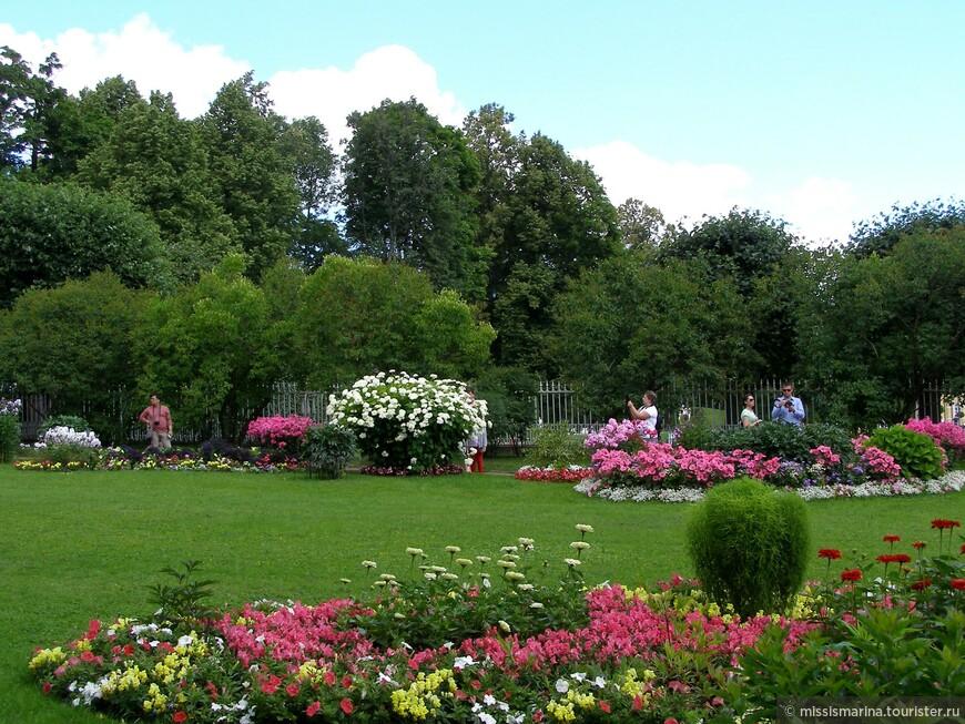 Фрейлинский сад изумителен!