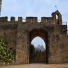 Крепость тамплиеров, вход