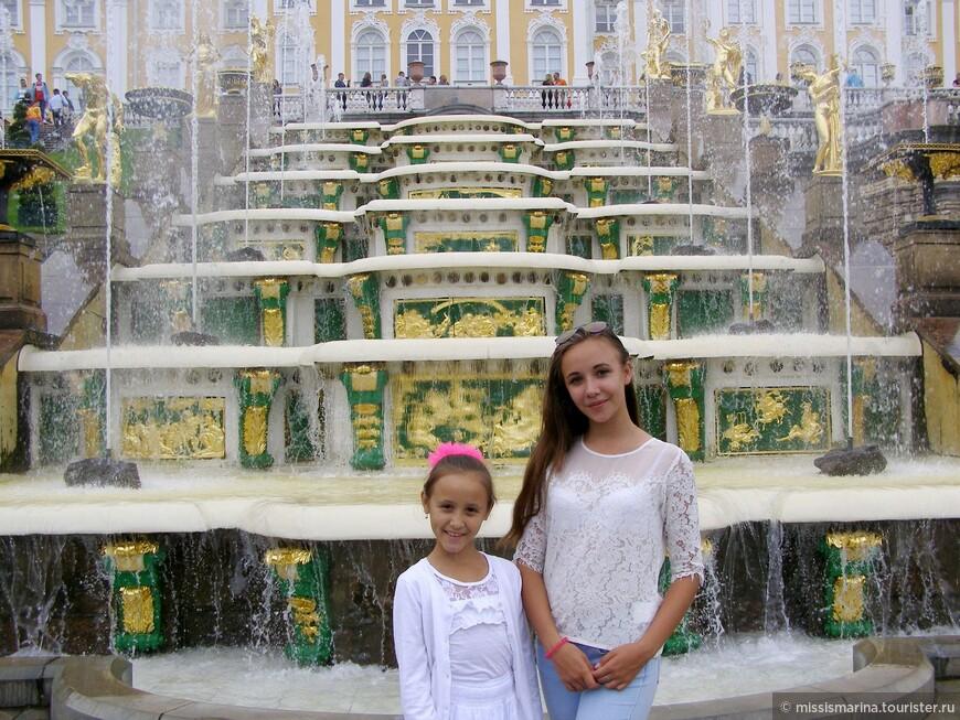 Восхищаемся фонтанами!