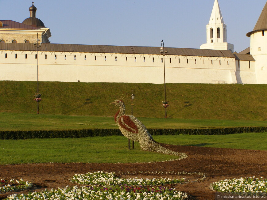У стен Кремля повстречали красавицу  Жар-птицу
