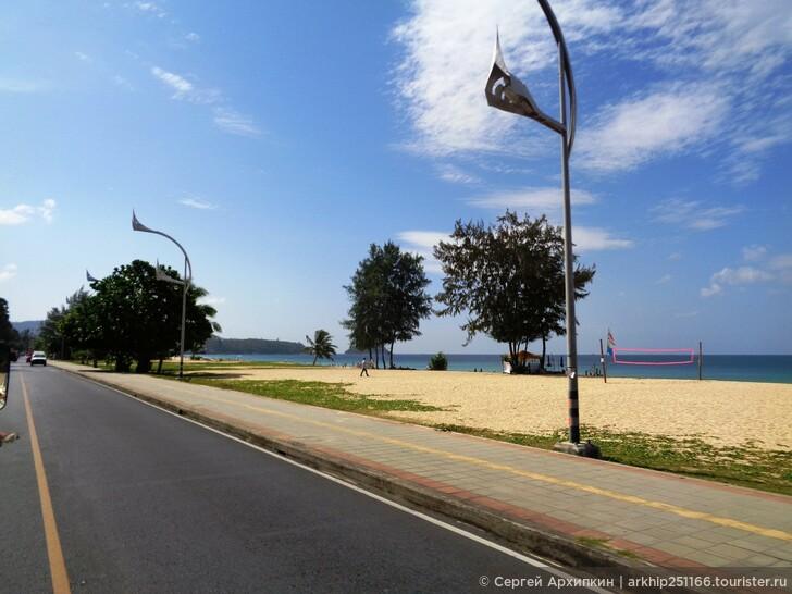 Общественный транспорт между пляжами Пхукета