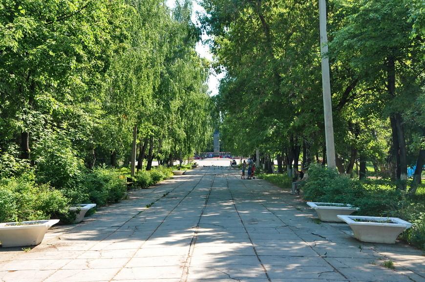 36. Советский парк, никаких изменений за 40 лет с ним не произошло.