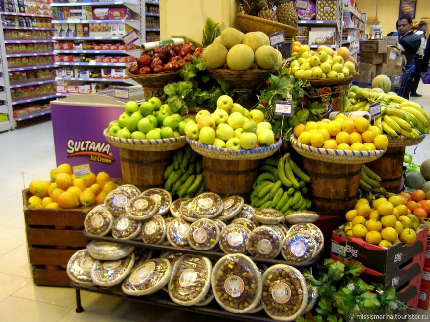 В Хургаде понравилось изобилие фруктов на рынках города