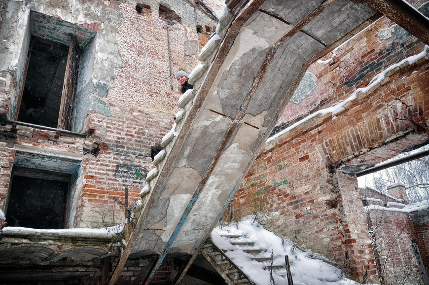 Разрушенная Церковь Сретения иконы Божией Матери г. Великий Устюг