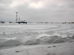 Аэропорты в Турции и Японии закрыты из-за снегопада