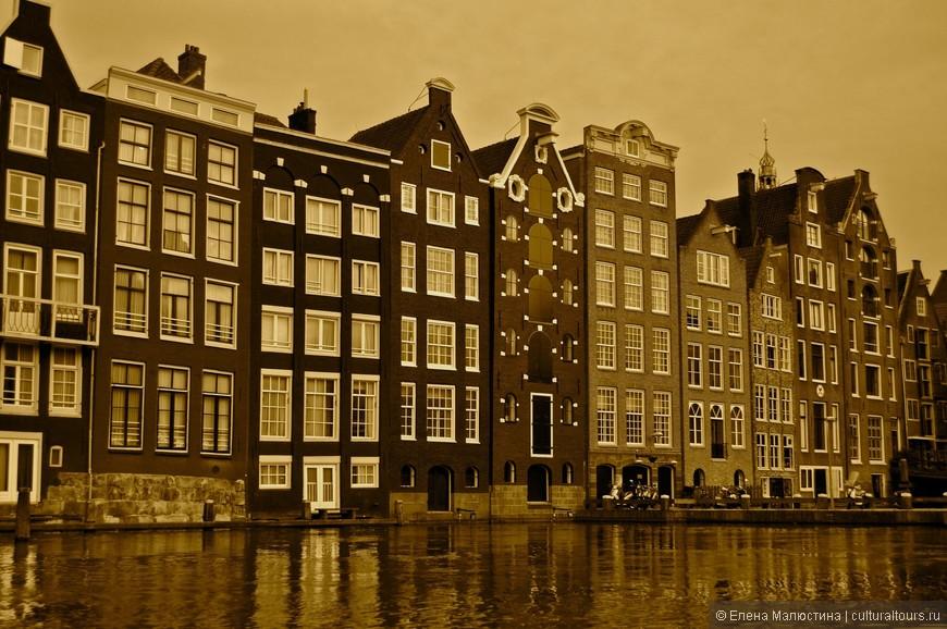 Одно из самых фотографируемых мест в Амстердаме