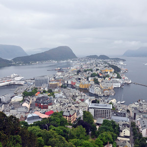 Норвегия,ч.2. Олесунн