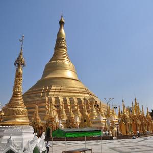Мьянма.ч.1.Янгон.Комплекс Шведагон