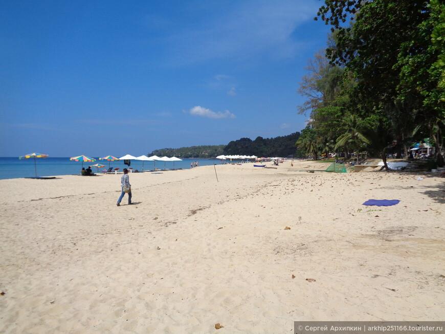 Пляж Сурин - около 14 часов