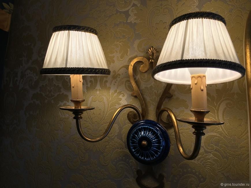 Светильники в комнате
