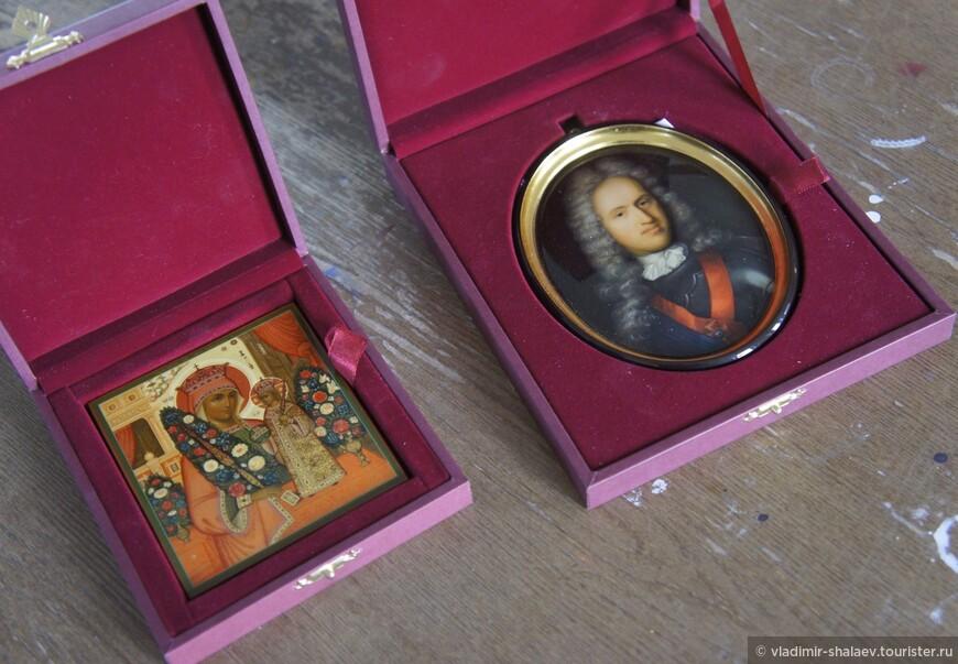 Палехская лаковая миниатюра получила признание во всем мире.