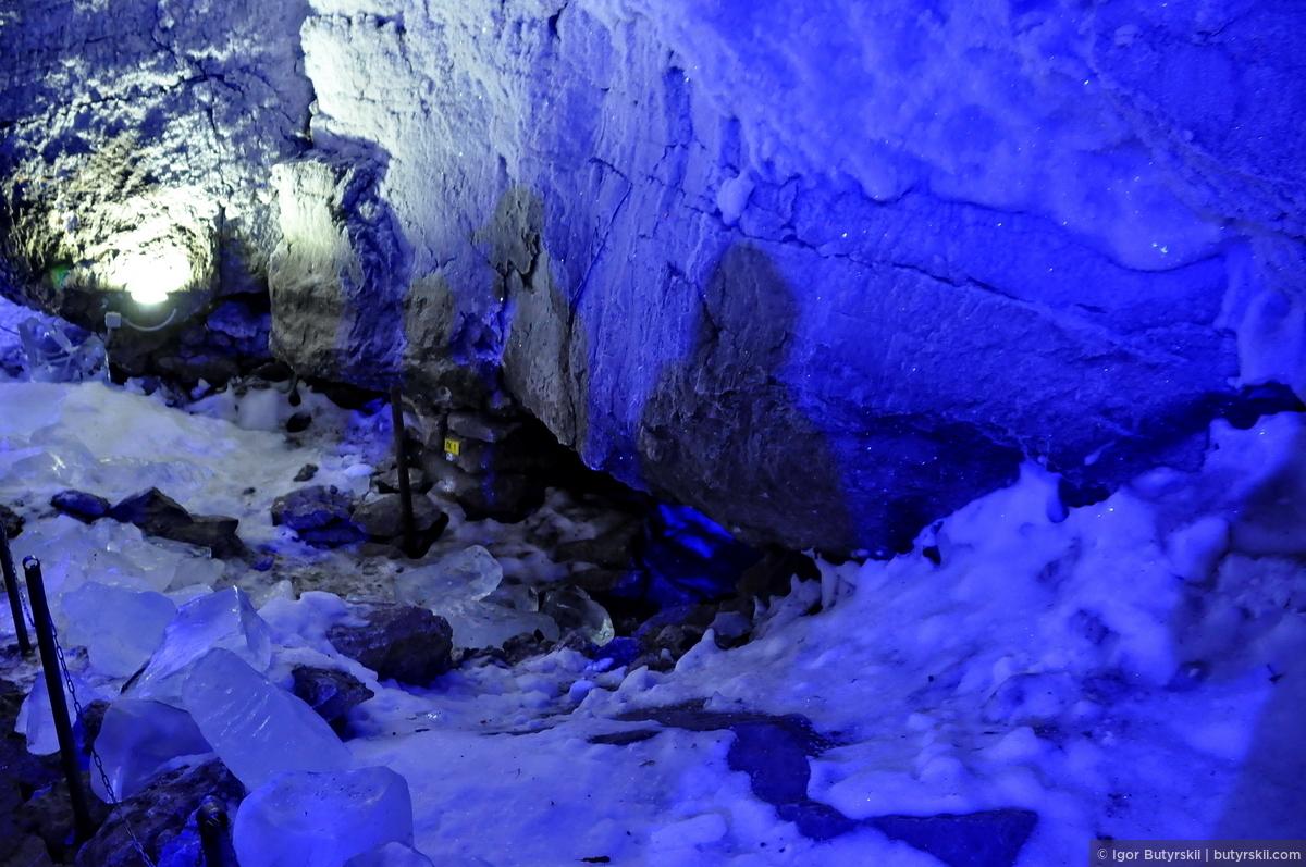 06. И не мудрено, ведь средняя температура воздуха в центре пещеры +5 градусов, а относительная влажность в центре пещеры — 100 %., Кунгур — Ледяные пещеры