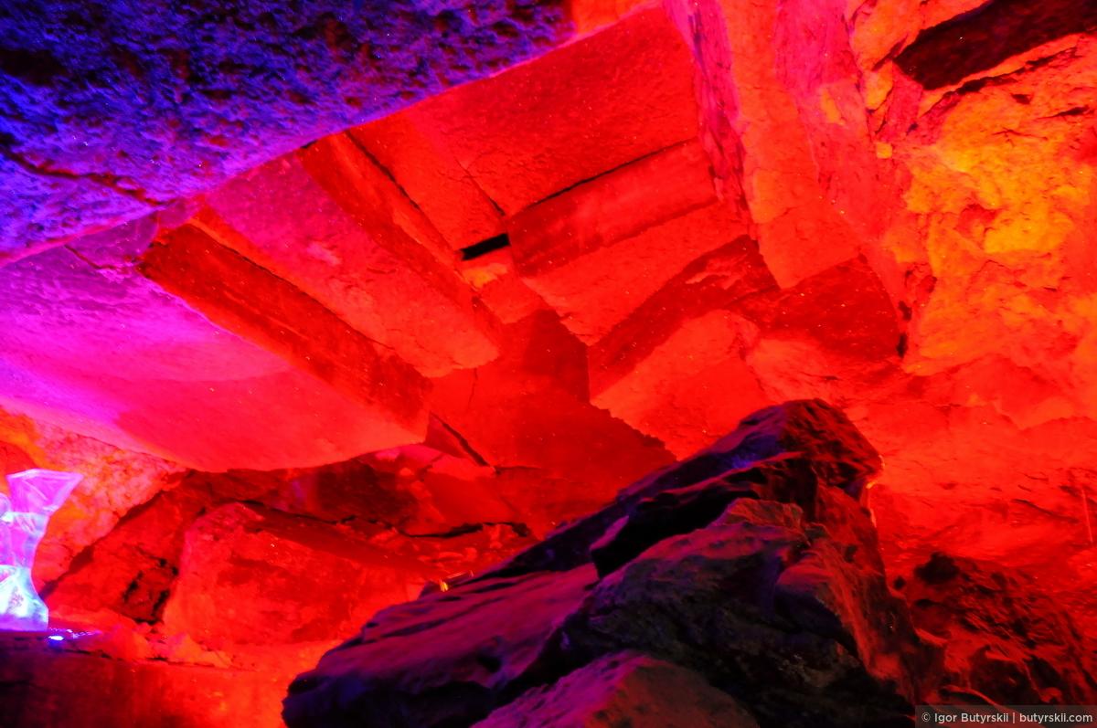 13. Пещера содержит 58 гротов, 70 озёр, 146 «органных труб». Только и успевай крутить головой., Кунгур — Ледяные пещеры