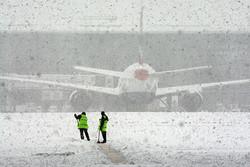 Из-за снегопада отменены десятки рейсов в аэропортах Москвы