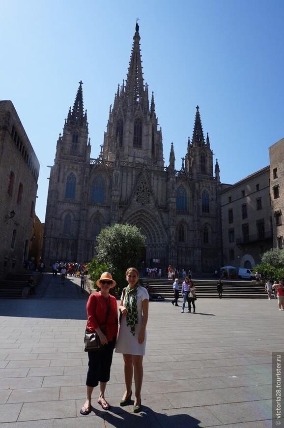 Обзорная экскурия по Барселоне