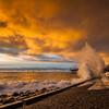 Рассвет на Набережной Ялты