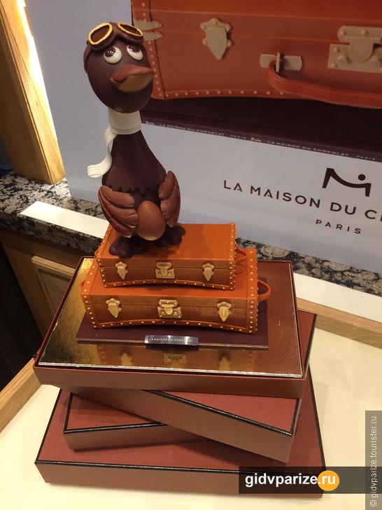 Где в Париже покупать шоколад?!
