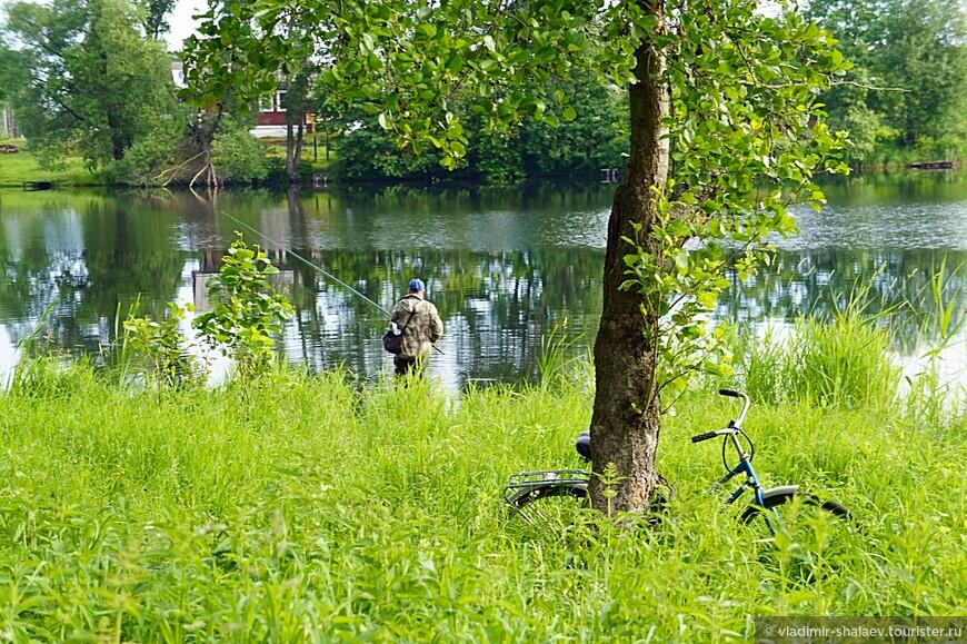 На озере Вазаль.