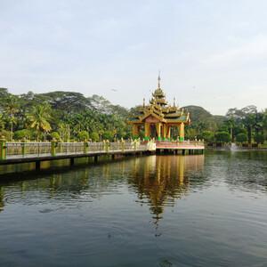 По городским паркам Янгона (Мьянма-Бирма)