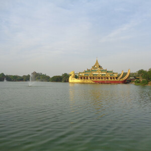 По храмам и паркам Янгона (Мьянма-Бирма) -ч.2