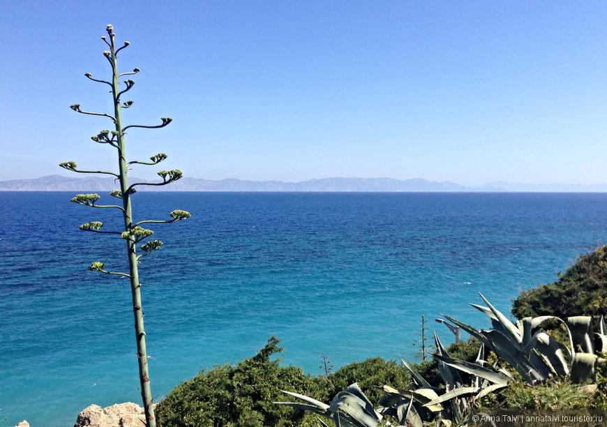Родос, вид с горы Монте-Смит