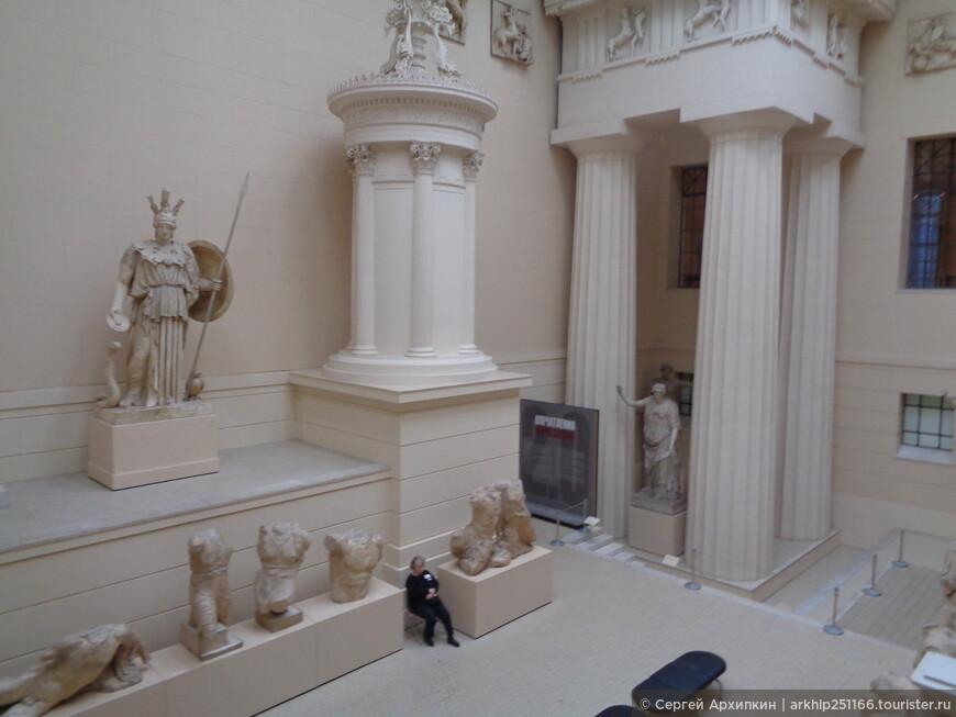 Греческий дворик в музее