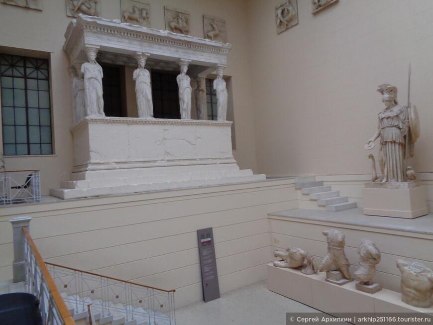 Греческий дворик в Пушкинском музее