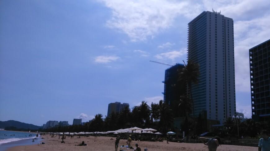 пляж в г. Нячанг