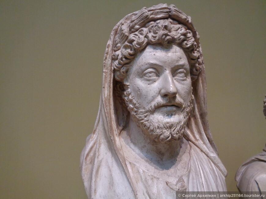 Портрет императора Марка Аврелия. 161-180 год