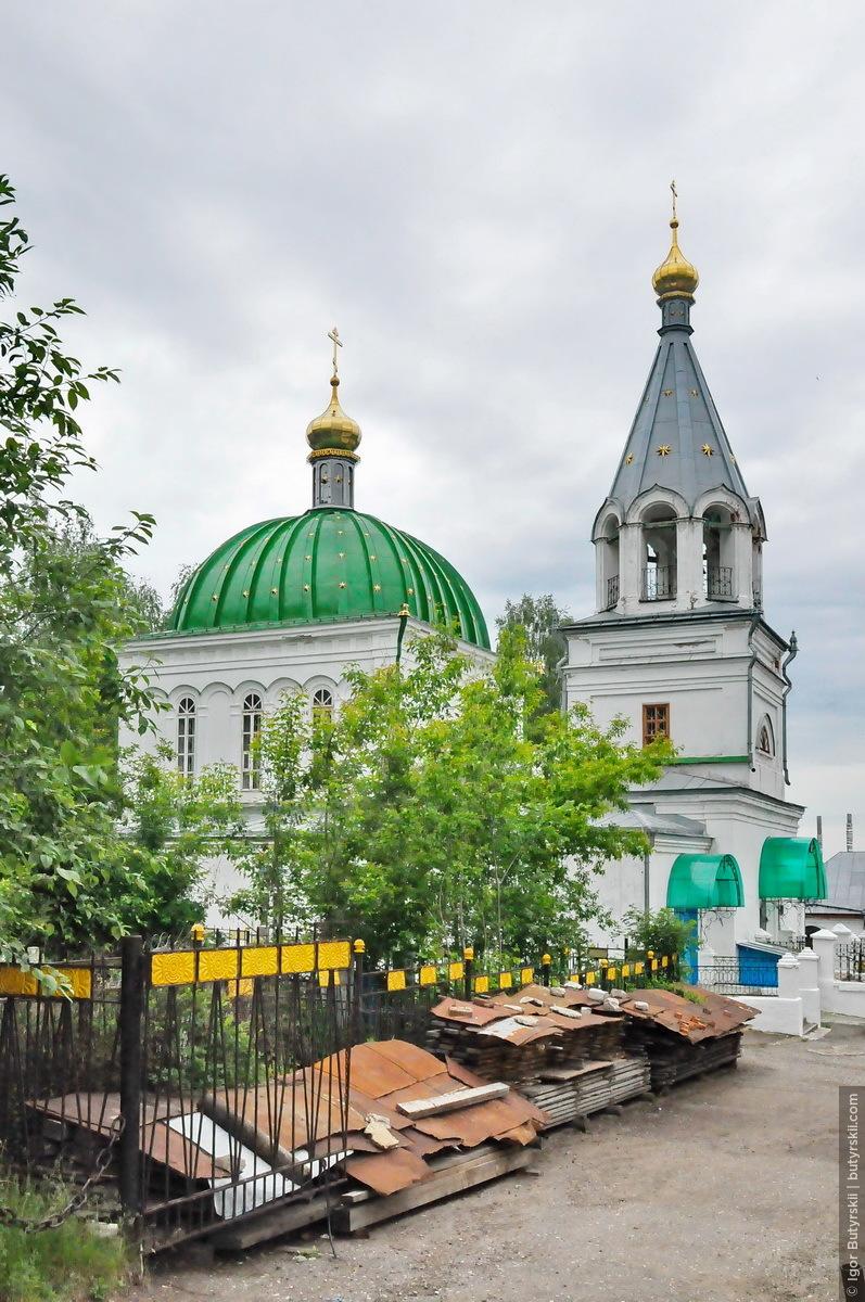 38. Закрытая в советское время церковь продолжила работать с 1943 года и больше не закрывалась., Кунгур